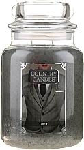 Духи, Парфюмерия, косметика Ароматическая свеча в банке - Country Candle Grey