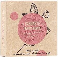 "Духи, Парфюмерия, косметика Натуральное мыло ""Жасмин"" - Essencias De Portugal Senses Jasmine Soap With Olive Oil"