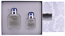 Духи, Парфюмерия, косметика Dolce&Gabbana Light Blue pour Homme - Набор (edt/125ml + edt/40ml)