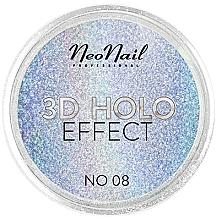 Духи, Парфюмерия, косметика Пудра для дизайна ногтей - NeoNail Professional 3D Holo Effect