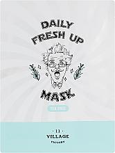 Духи, Парфюмерия, косметика Тканевая маска с экстрактом чайного дерева - Village 11 Factory Daily Fresh Up Mask Tea Tree