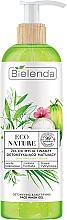 Духи, Парфюмерия, косметика Очищающий гель для лица - Bielenda Eco Nature Coconut Water Green Tea & Lemongrass Detox & Mattifyng Face Wash Gel