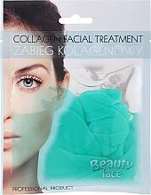 Коллагеновая маска с зеленым чаем и витаминами - Beauty Face Collagen Hydrogel Mask — фото N1