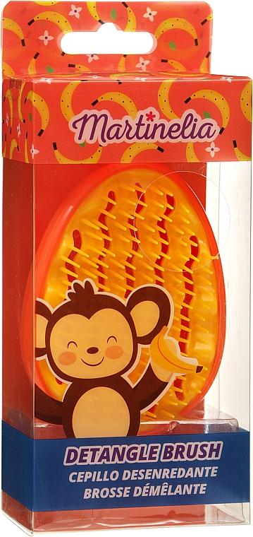 """Расческа для волос """"Detangle"""", желто-оранжевая - Martinelia — фото N1"""