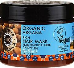 Духи, Парфюмерия, косметика Восстанавливающая маска для волос - Planeta Organica Organic Argana Rich Hair Mask