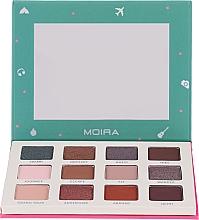 Палетка теней для век - Moira Happy Go, Fly, Travel Shadow Palette — фото N1
