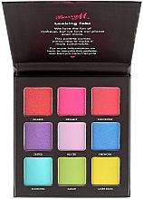 Палетка теней для век - Barry M Eyeshadow Palette Neon Brights — фото N1