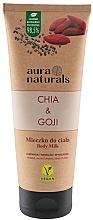 "Духи, Парфюмерия, косметика Молочко для тела ""Чиа и годжи"" - Aura Naturals Chia & Goji Body Milk"