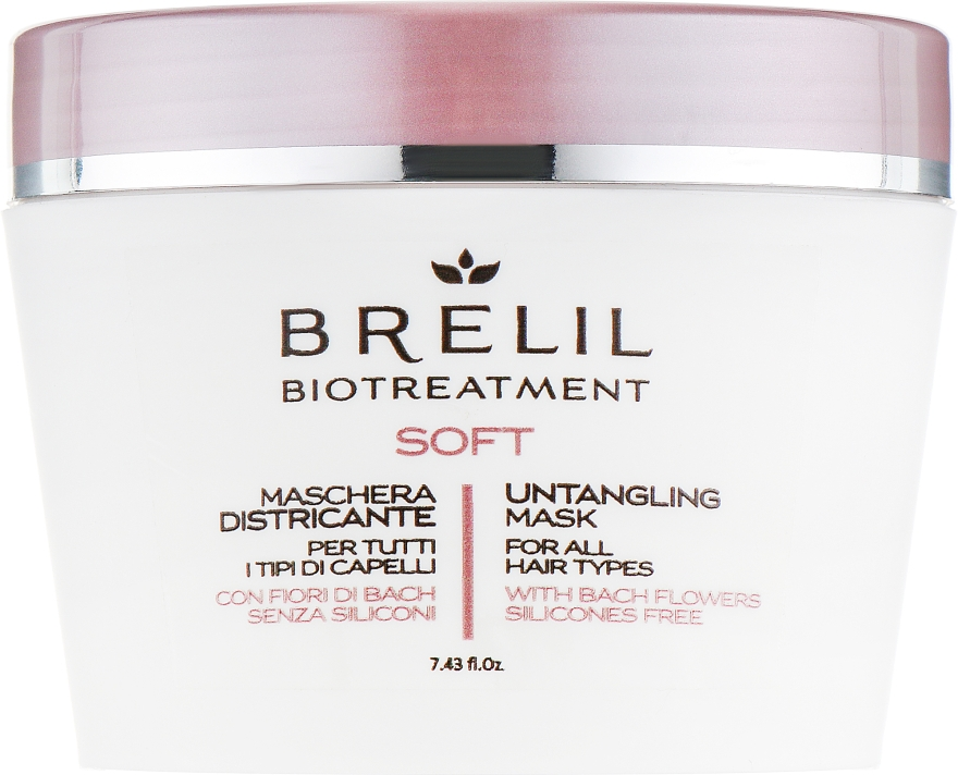 Маска для непослушных волос - Brelil Bio Treatment Soft Untangling Mask — фото N1