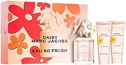 Духи, Парфюмерия, косметика Marc Jacobs Daisy Eau So Fresh - Набор (edt/75ml + b/lot/75ml + sh/gel/75ml)