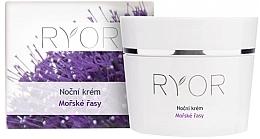 Духи, Парфюмерия, косметика Ночной крем для лица - Ryor Night Cream Marine Algae