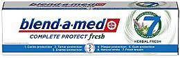 "Духи, Парфюмерия, косметика Зубная паста ""Комплекс с травами"" - Blend-a-Med Complete Protect Fresh 7 Herbal Fresh Toothpaste"