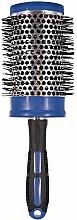 Духи, Парфюмерия, косметика Щетка для волос керамическая для укладки, 499161, 60 мм., синяя - Inter-Vion