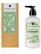 Духи, Парфюмерия, косметика Лосьон для рук - Accentra Natural Spa Eucalyptus & Lemon Grass Hand Lotion