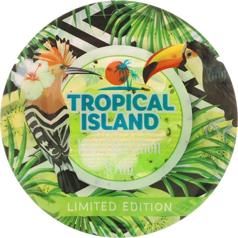 """Скраб для лица """"Киви"""" - Marion Tropical Island Kiwi Exfoliation Scrub — фото N1"""