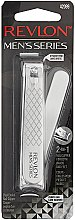 Духи, Парфюмерия, косметика Книпсер мужской для ногтей - Revlon Men's Series Dual-Ended Nail Clipper