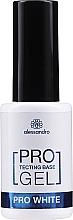 Духи, Парфюмерия, косметика Укрепляющая база для ногтей - Alessandro International Protectig Base Gel Pro White