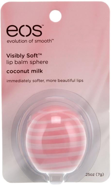 "Бальзам для губ ""Кокосовое молочко"" - EOS Smooth Sphere Lip Balm Coconut Milk — фото N2"