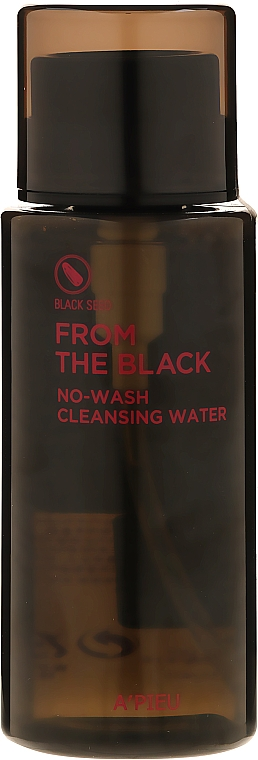 Очищающая вода - A'pieu From The Black No Wash Cleansing Water — фото N1