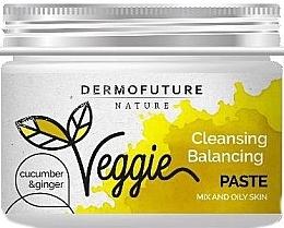 Духи, Парфюмерия, косметика Паста для жирной кожы лица - DermoFuture Ginger & Cucumber Pasta