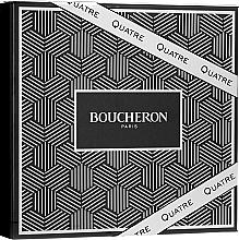 Духи, Парфюмерия, косметика Boucheron Quatre Boucheron Pour Homme - Набор (edt/100ml + ash/balm/100ml + sh/gel/100ml)