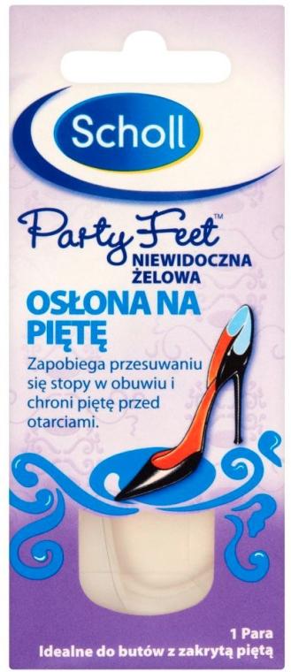 Гелевые подушечки для задника обуви от натирания пяток - Scholl Party Feet Invisible Gel Shields Back of Heels — фото N2