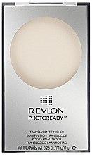 Духи, Парфюмерия, косметика Прозрачная финишная пудра для лица - Revlon Photoready Translucent Finisher Face Powder