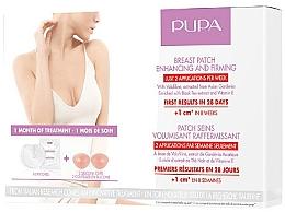 Духи, Парфюмерия, косметика Патчи для подтяжки и увеличения объема груди - Pupa Breast Patch Enhancing and Firming Set