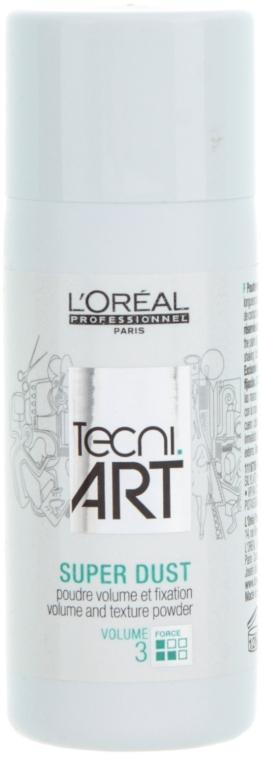 Пудра для придания объема волосам - L'Oreal Professionnel Tecni.art Super Dust — фото N1