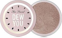 Духи, Парфюмерия, косметика Пудра рассыпчатая - Too Faced Dew You Fresh Glow Translucent Setting Powder