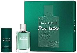 Духи, Парфюмерия, косметика Davidoff Run Wild Men - Набор (edt/100ml + deo/70g)