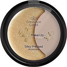 Духи, Парфюмерия, косметика Пудра для лица - Constance Caroll Silky Make-Up Smooth Silky Pressed Powder