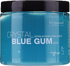 Духи, Парфюмерия, косметика Гель структурирующий длительной фиксации - Kosswell Professional Dfine Crystal Blue Gum