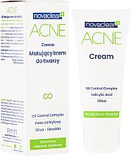 Духи, Парфюмерия, косметика Матирующий крем для лица - Novaclear Acne Cream