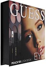 Духи, Парфюмерия, косметика Набор - Guess Beauty Peach 101 Eye Lookbook (mascara/4ml + eyeliner/0.5g + 12xeye/sh/1.96g)