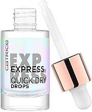 Духи, Парфюмерия, косметика Сушка для ногтей в каплях - Catrice Express Quick Dry Drops