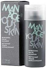 Духи, Парфюмерия, косметика Освежающий гель для очищения кожи лица - Dr. Spiller Manage Your Skin Refreshing Facial Cleanser