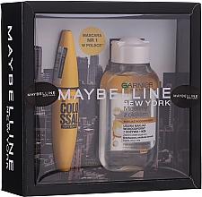 Духи, Парфюмерия, косметика Набор - Maybelline (mascara/10.7ml + micellar water/100ml)