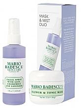 Духи, Парфюмерия, косметика Набор - Mario Badescu Lavender Mask & Mist Duo Set (mask/56g+spray/118ml)