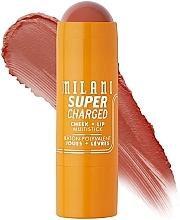 Духи, Парфюмерия, косметика Мультистик для щек и губ - Milani Supercharged Cheek + Lip Multistick