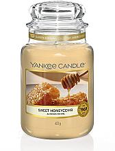 Духи, Парфюмерия, косметика Ароматическая свеча в банке - Yankee Candle Sweet Honeycomb