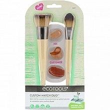 Духи, Парфюмерия, косметика Набор кистей для макияжа - Eco Tools Custom Match Duo