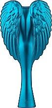 Духи, Парфюмерия, косметика Расческа-ангел компактная, бирюзовая - Tangle Angel Cherub Total! Turquoise Professional Detangling Brush