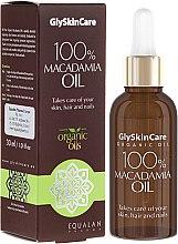 Духи, Парфюмерия, косметика Масло макадамии - GlySkinCare Macadamia Oil 100%
