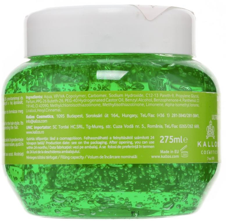 Гель для волос ультрасильной фиксации - Kallos Cosmetics — фото N2