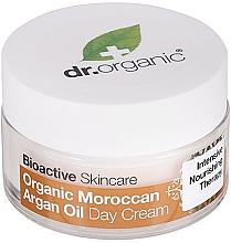 """Духи, Парфюмерия, косметика Дневной крем для тела """"Марокканское аргановое масло"""" - Dr. Organic Bioactive Skincare Organic Moroccan Argan Oil Day Cream"""
