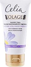 Духи, Парфюмерия, косметика Маска от морщин для лица - Celia Collagen Mask