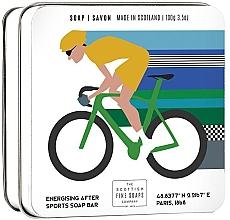 "Духи, Парфюмерия, косметика Мыло ""Велоспорт"" - Scottish Fine Soaps Cycling Sports Soap In A Tin"