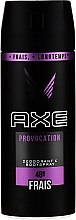 Духи, Парфюмерия, косметика Антиперспирант - Axe Provocation Men Deodorant Bodyspray