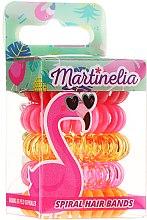 """Духи, Парфюмерия, косметика Резинки для волос """"Фламинго"""", 5 шт - Martinelia"""